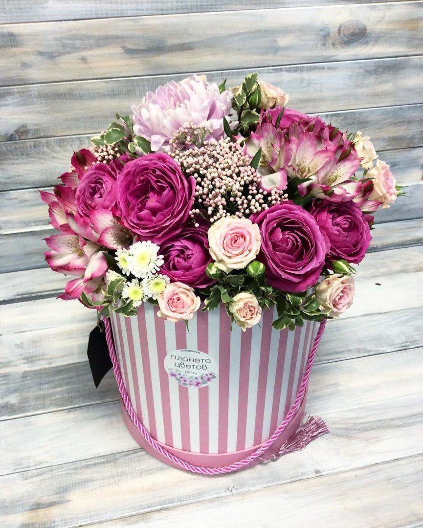 Цветочная коробка №24