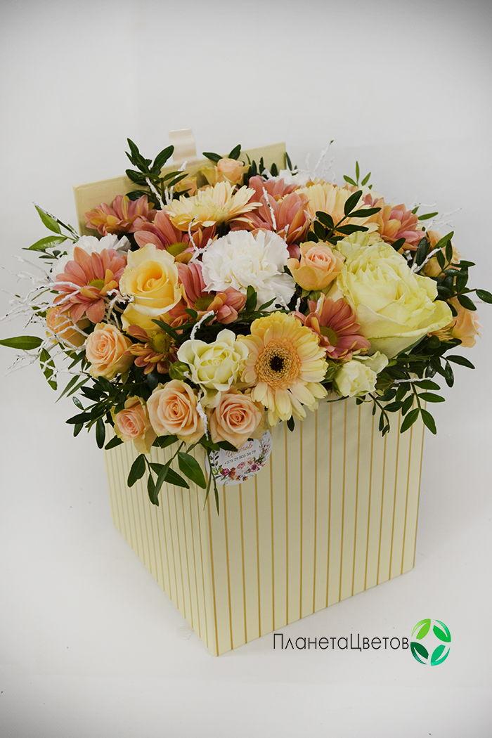 Цветочная коробка №06