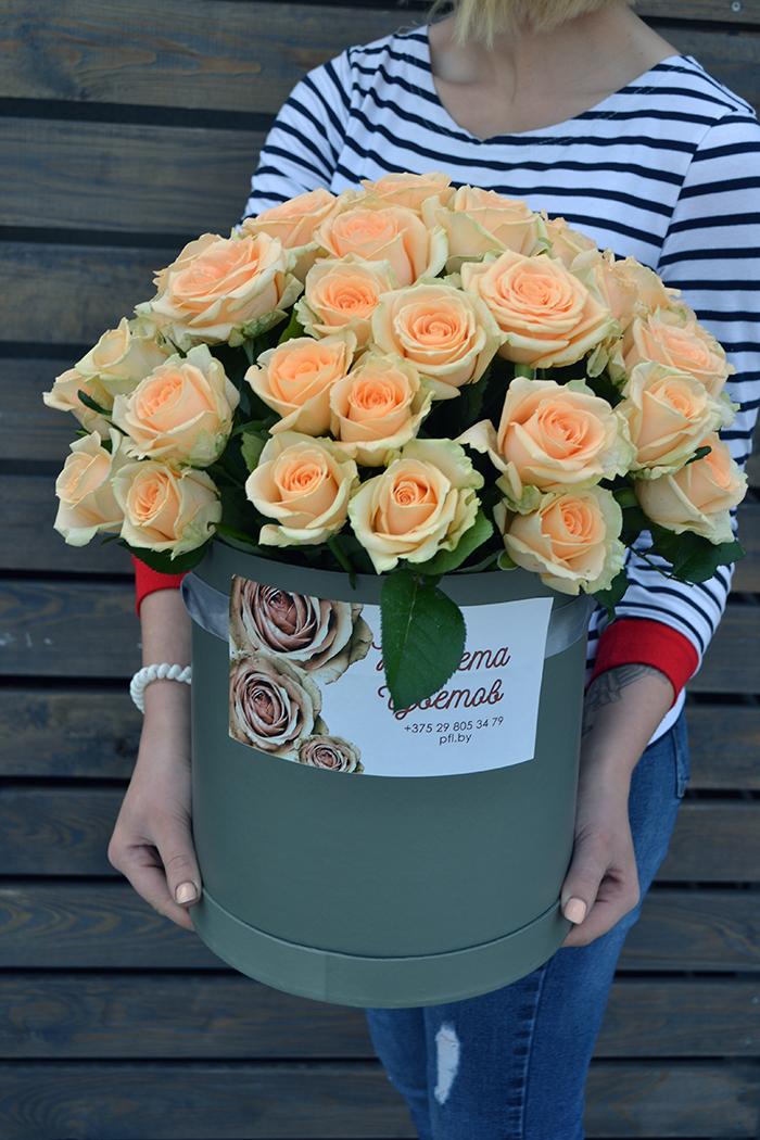 Цветочная коробка №119
