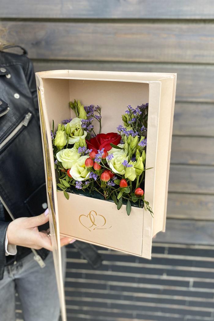 Цветочная коробка №117