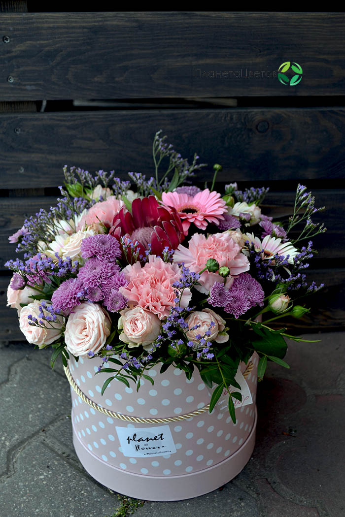 Цветочная коробка №13