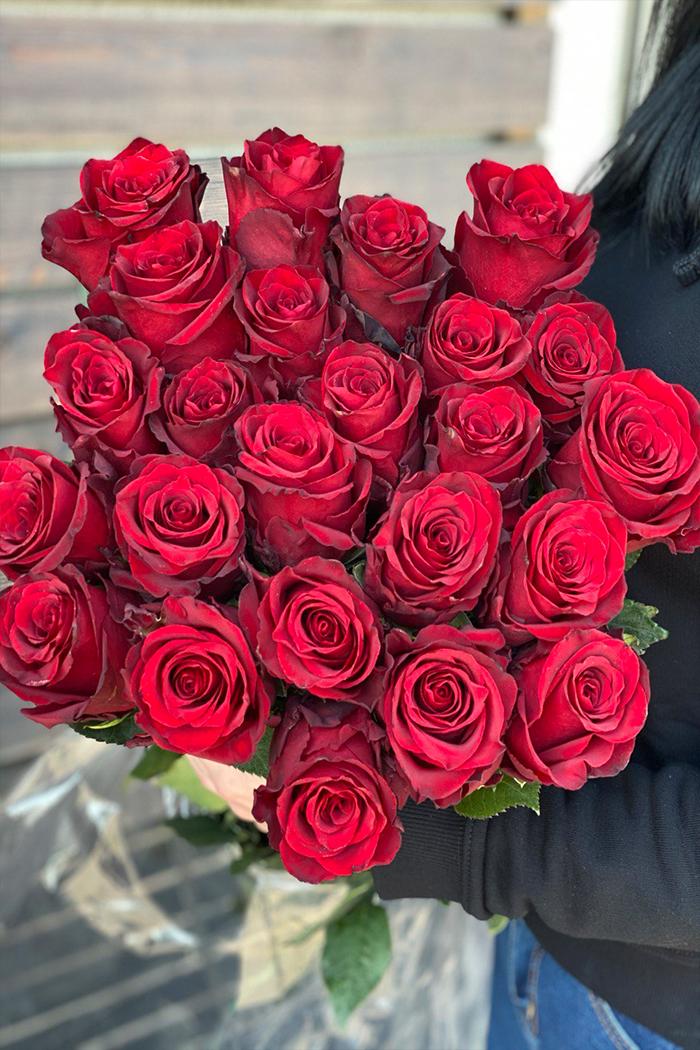 Букет из роз №48