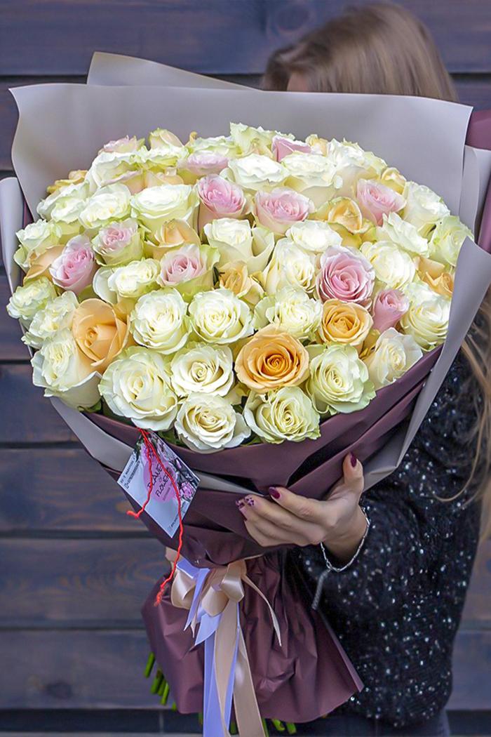 Букет из роз №25