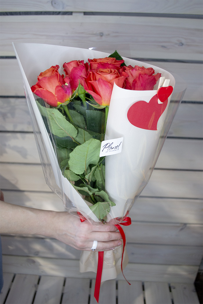Букет из роз №23