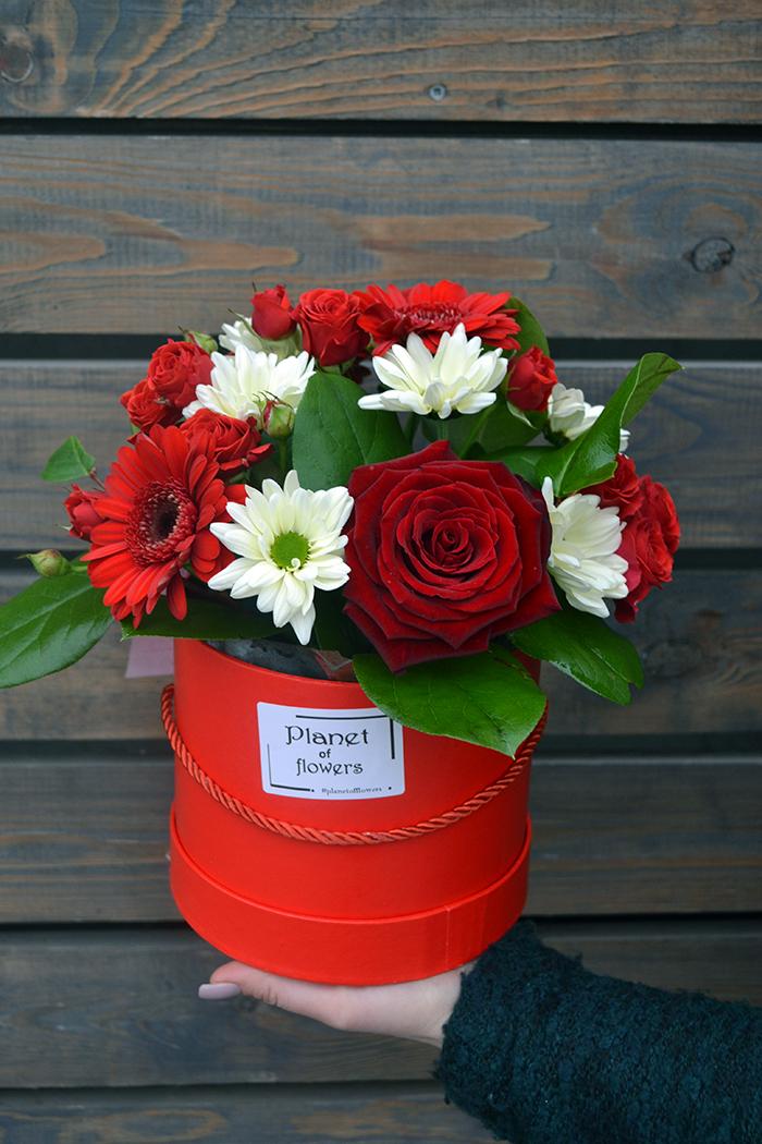 Цветочная коробка №01