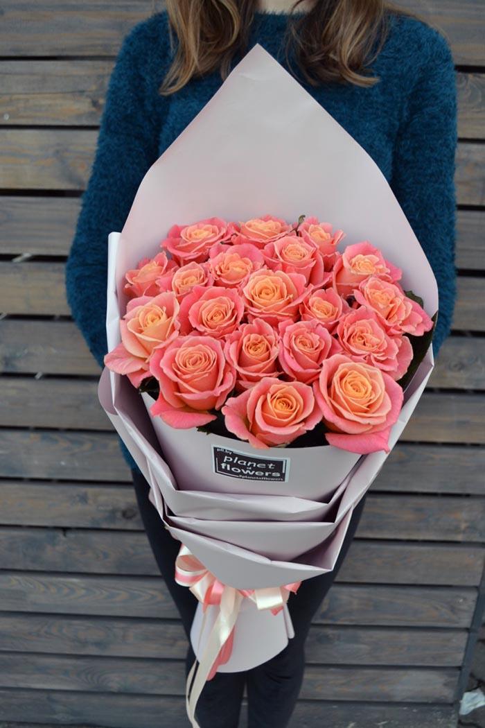 Букет из роз №12