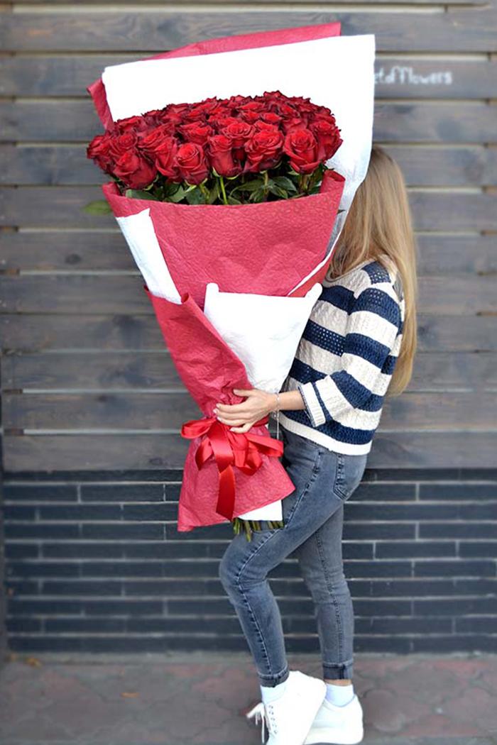 Букет из роз №26