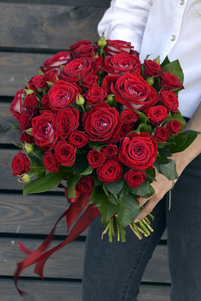 Букет из роз №17