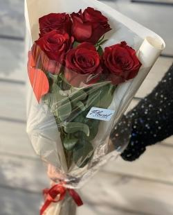 Букет из роз №19