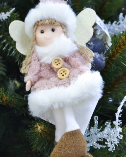 Игрушка на елку ангелочек